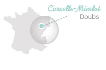 Localisation Domaine de Mieslot